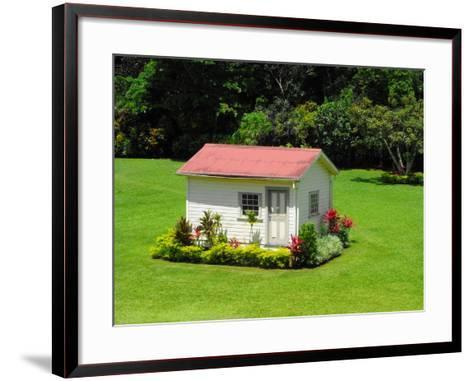 Chalet in the Grounds of Villa Vailima, Apia, Samoa--Framed Art Print