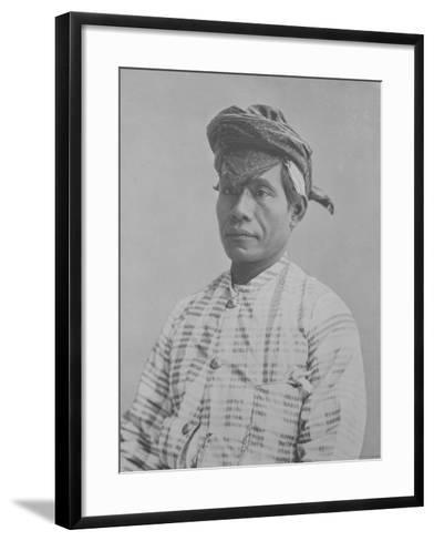 Mr. Mandooer--Framed Art Print