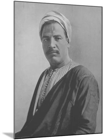 Hasan Shita--Mounted Photographic Print