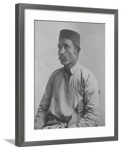 Abu El Hade--Framed Art Print