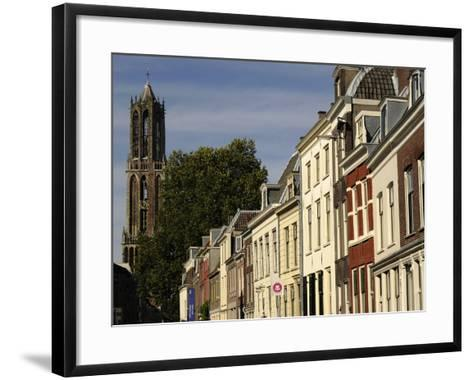 Tower of the Cathedral of Saint Martin, 14th Century, Utrecht--Framed Art Print