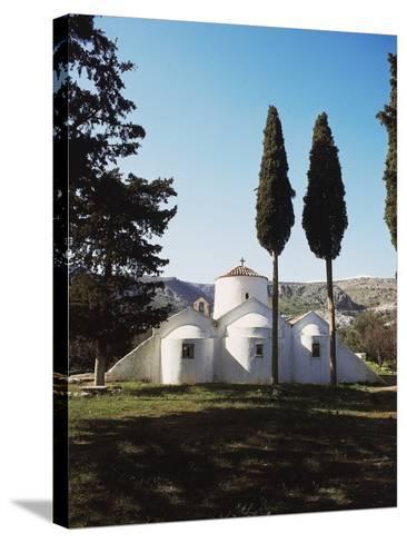 Church of Panagia Kera Near Kritsa, Crete Island, Greece, 14th Century--Stretched Canvas Print