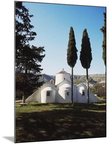 Church of Panagia Kera Near Kritsa, Crete Island, Greece, 14th Century--Mounted Photographic Print
