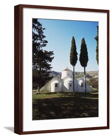 Church of Panagia Kera Near Kritsa, Crete Island, Greece, 14th Century--Framed Art Print
