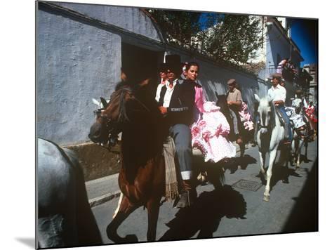 Andalusian Fair, Fuengirola, Andalusia, Spain--Mounted Photographic Print