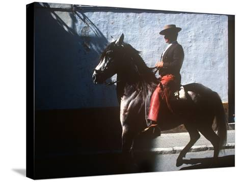Andalusian Fair, Fuengirola, Andalusia, Spain--Stretched Canvas Print