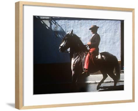 Andalusian Fair, Fuengirola, Andalusia, Spain--Framed Art Print
