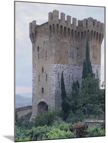 Low Angle View of a Fort, St. Angelo, Perugia, Umbria, Italy--Mounted Photographic Print