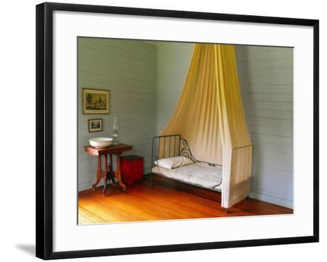 Fanny's Medicine Room, Villa Vailima, Apia, Samoa--Framed Art Print
