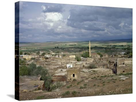 Turkey, Cappadocia, the Town Gokcetoprak, Central Anatolia--Stretched Canvas Print
