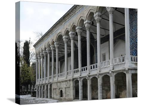 Exterior of Tiled Kiosk Museum, Istanbul, Turkey--Stretched Canvas Print