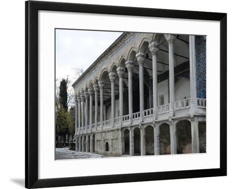 Exterior of Tiled Kiosk Museum, Istanbul, Turkey--Framed Art Print