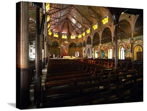 Cathedral Basilica of the Immaculate Conception, Castries, Saint Lucia--Stretched Canvas Print