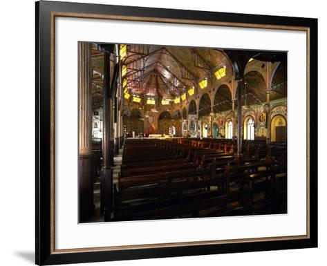 Cathedral Basilica of the Immaculate Conception, Castries, Saint Lucia--Framed Art Print