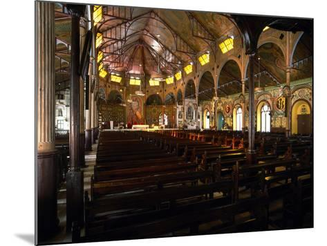 Cathedral Basilica of the Immaculate Conception, Castries, Saint Lucia--Mounted Photographic Print