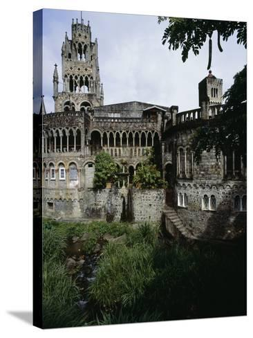 Saint Mary's Cathedral of the Assumption, Kingstown, Saint Vincent--Stretched Canvas Print