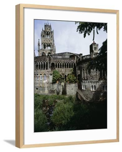 Saint Mary's Cathedral of the Assumption, Kingstown, Saint Vincent--Framed Art Print