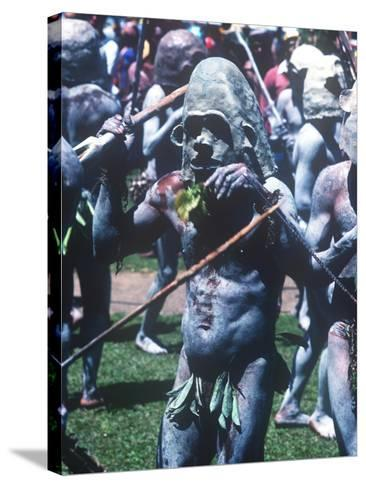 Mt. Hagen Highland Show, Goroka, Papua New Guinea--Stretched Canvas Print