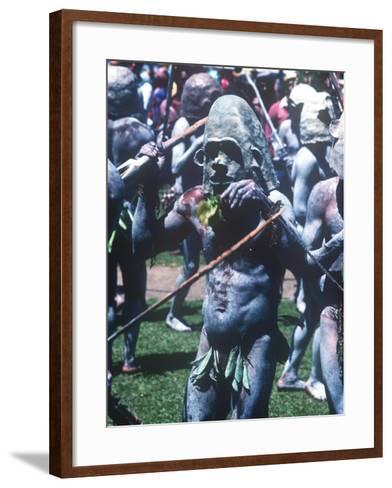 Mt. Hagen Highland Show, Goroka, Papua New Guinea--Framed Art Print