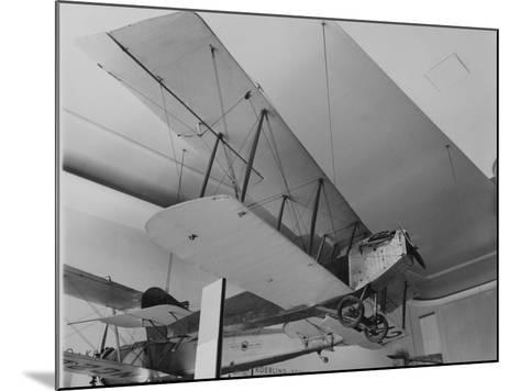 An Early Bi Wing Plane on Display at Museum of Science and Industry--Mounted Photographic Print