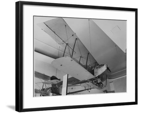 An Early Bi Wing Plane on Display at Museum of Science and Industry--Framed Art Print