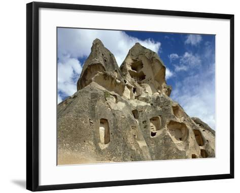 Turkey, Goreme National Park, Troglodyte Church, Central Antatolia--Framed Art Print
