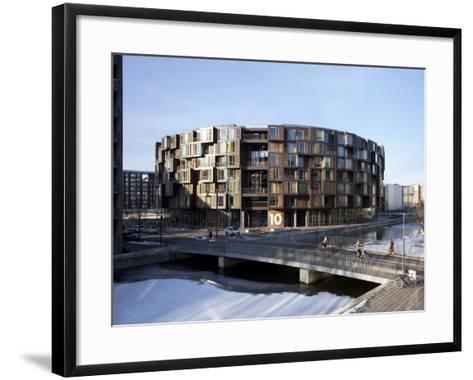 Student Residence Tietgenkollegiet, Ørestad, Copenhagen, Denmark--Framed Art Print