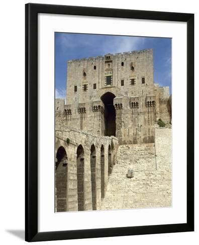 Syria, Aleppo, the Citadel--Framed Art Print