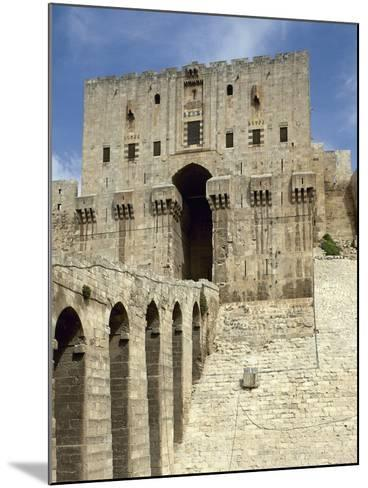 Syria, Aleppo, the Citadel--Mounted Photographic Print