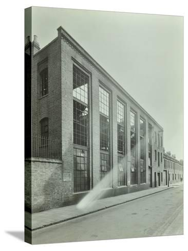 Ezra Street, Bethnal Green, Looking East, by Raven Works, 1944--Stretched Canvas Print