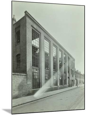 Ezra Street, Bethnal Green, Looking East, by Raven Works, 1944--Mounted Photographic Print