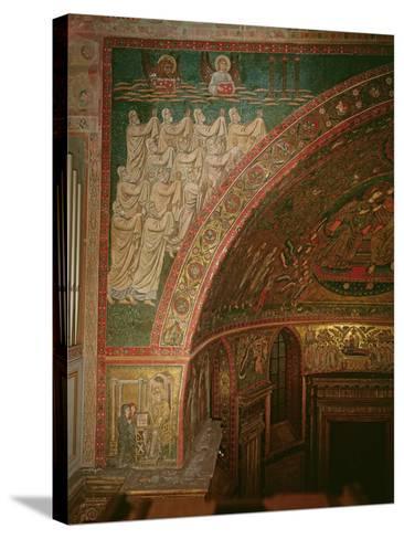 Elders of the Apocalypse, Santa Maria Maggiore, Rome (Mosaic)--Stretched Canvas Print