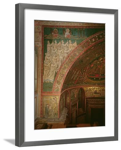 Elders of the Apocalypse, Santa Maria Maggiore, Rome (Mosaic)--Framed Art Print