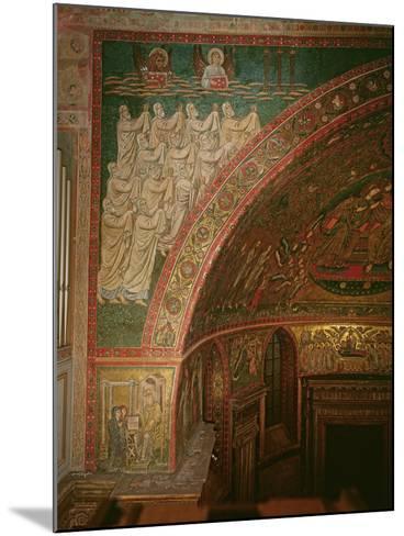 Elders of the Apocalypse, Santa Maria Maggiore, Rome (Mosaic)--Mounted Photographic Print