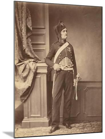 M. Schmidt of the 2nd Mounted Chasseur Regiment of 1813-14, 1860--Mounted Photographic Print
