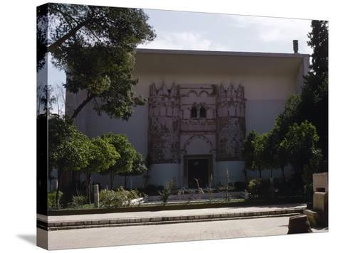 Syria. National Museum of Damascus. Exterior--Stretched Canvas Print
