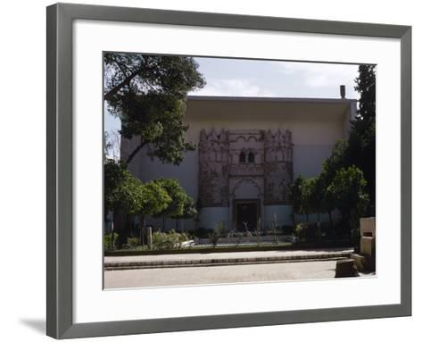 Syria. National Museum of Damascus. Exterior--Framed Art Print