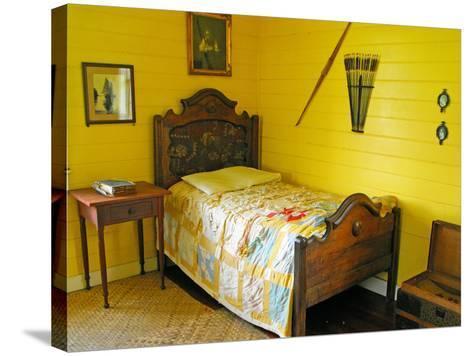 Austin's Bedroom, Villa Vailima, Apia, Samoa--Stretched Canvas Print