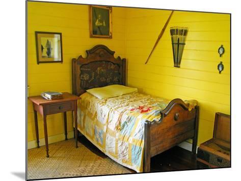 Austin's Bedroom, Villa Vailima, Apia, Samoa--Mounted Photographic Print