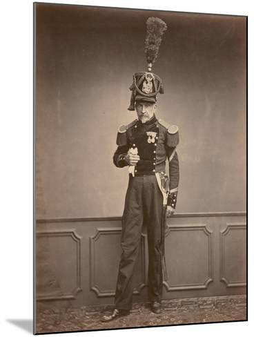 M. Lefebre, Sergeant in the 2nd Regiment of Engineers, 1860--Mounted Photographic Print
