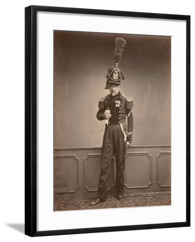 M. Lefebre, Sergeant in the 2nd Regiment of Engineers, 1860--Framed Art Print