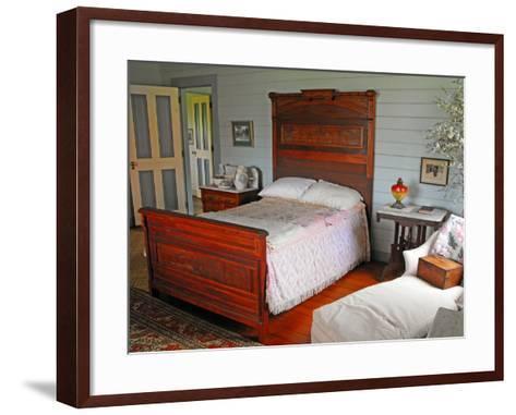 Isobel's Bedroom, Villa Vailima, Apia, Samoa--Framed Art Print