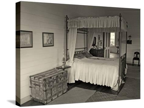Maggie's Bedroom, Villa Vailima, Apia, Samoa--Stretched Canvas Print