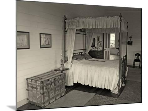 Maggie's Bedroom, Villa Vailima, Apia, Samoa--Mounted Photographic Print