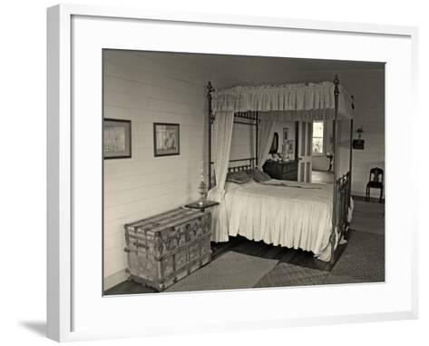 Maggie's Bedroom, Villa Vailima, Apia, Samoa--Framed Art Print