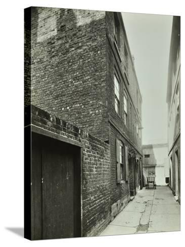 3-4 Cheshire Place, Bethnal Green, 1944--Stretched Canvas Print