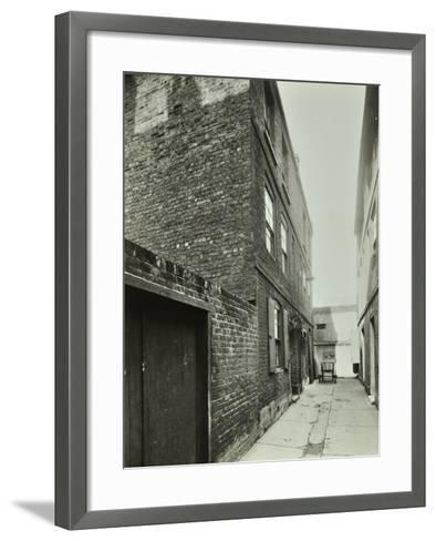 3-4 Cheshire Place, Bethnal Green, 1944--Framed Art Print