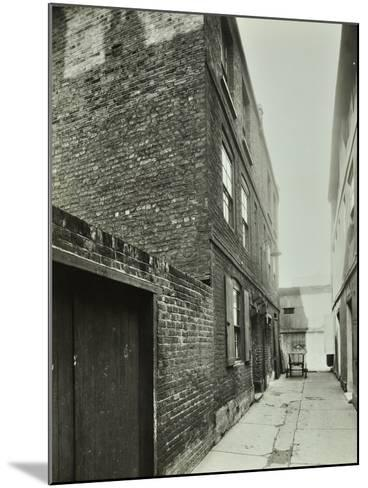 3-4 Cheshire Place, Bethnal Green, 1944--Mounted Photographic Print