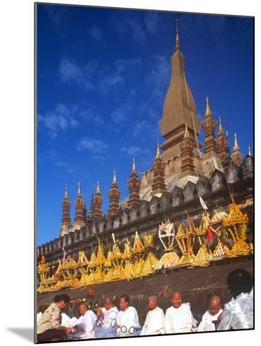 That Luang Celebration, Vientiane, Laos--Mounted Photographic Print