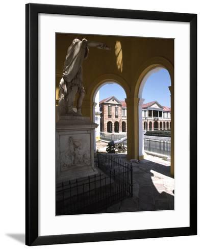Rodney Memorial, Spanish Town, Jamaica--Framed Art Print